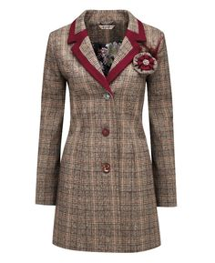 """Joe Browns"" Joe Browns Heritage Coat at Simply Be"