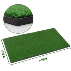 Ideal for the casual or beginner golfer this backyard golf training practice hitting mat by Relefree serves as a prime companion on the driving range