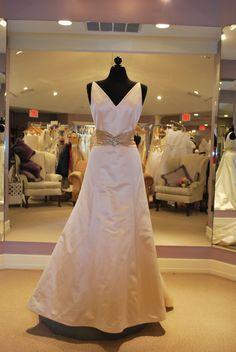 paloma blanca bridal style 3701, $800
