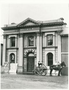 Longford Town Hall (1880) The Tivoli Theatre was originally just to the south of Brown's Big Store, and 'nice young ladies were forbidden to attend the dubious entertainments'.