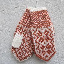 Dame selbuvotter i senneps gult og hvitt - Epla Gloves, Knitting, Winter, Winter Time, Tricot, Breien, Stricken, Weaving, Knits