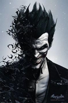 Batman Arkham Origins - Joker - Official Poster                                                                                                                                                                                 More