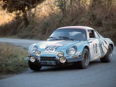 1974 Alpine-Renault A110 1800 Group 4 Works