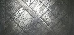ParquetMétalChêne Rives Abimées Campagne Vieilli Métal Argenté/  PARQUET  METAL Oak Rives damaged Campaign Aged Silver Metal