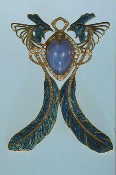 Art Nouveau Lalique Jewelry - Pendant