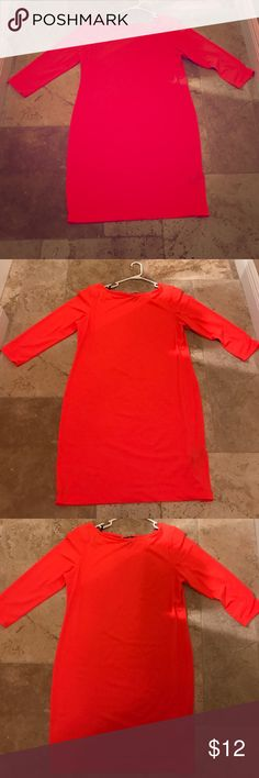 Hot pink H&M dress great condition H&M hot pink dress great condition H&M Dresses Long Sleeve
