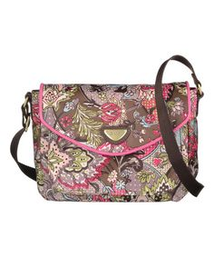 Love this Moss French Paisley Small Shoulder Bag by Oilily on #zulily! #zulilyfinds