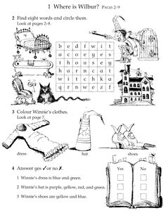 Fuentes' English Corner : Winnie the Witch Activity Sheets English Reading, English Book, English Lessons, Printable Activities For Kids, Classroom Activities, Book Activities, Classroom Ideas, The Witcher, Winnie The Witch