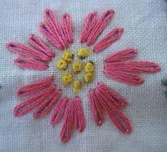 Stitch School: lazy daisy