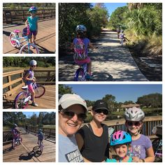 1/6/17: PE: riding bikes, about 5 miles, with Aunt Ann