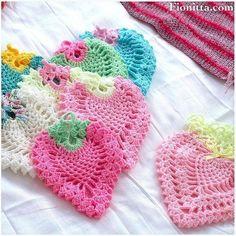 Delicadezas en crochet Gabriela: Frutillas paso a paso ganchillo