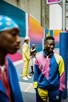 """Pigalle Celebrates Basketball With """"Sunset to Duperré"""" Drop: Color-drenched uniforms and layering pieces. Skeeter Valentine, Pigalle Basketball, Doug Funnie, Aesthetic Iphone Wallpaper, Graphic Design Inspiration, Hypebeast, Drop, Sunset, Celebrities"""