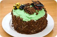Digger Dirt Cake