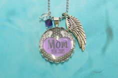 Personalized In Memory of Bottle Cap Jewelry - Bottle Cap Jewelry - Loss of a Loved one