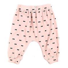 Baby Jersey Jogger by EMILE ET IDA #kidswear #pink #bows