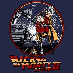 Rick and Morty Back To The Future 2 T-Shirt @ Textual Tees Funny Tees, Funny Tshirts, Cartoon Drawings, Art Drawings, Cartoon Art, Rick And Morty Crossover, Rick And Morty Stickers, Wubba Lubba, Rick And Morty Poster