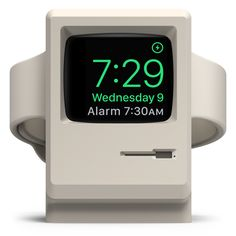 W3 Stand for Apple Watch 1 & 2 (Supports Nightstand Mode) - White