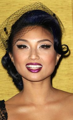 l <3 jeannie mai and her blue hair :p