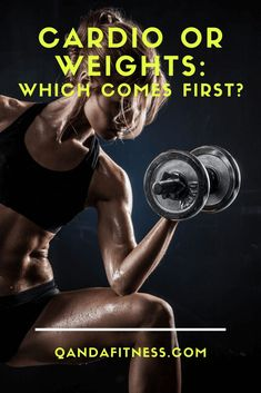 Cardio and weight training are completely separate forms of physical activity that affect the cells of muscles differently. So which should you do first? Check out this article for all you need to know - QandA Fitness - #fitness #cardio #WeightTraining