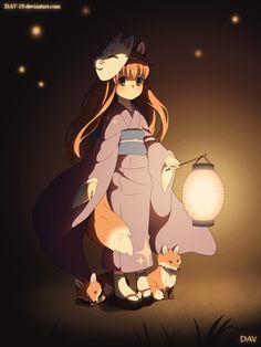 Little Kitsune by DAV-19