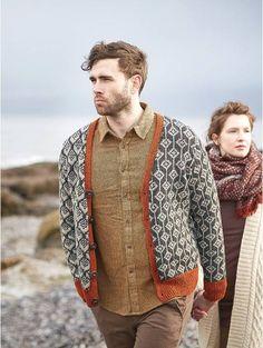 Rowan Magazine 60 Fall Winter 2016 - Die Websters in Ashland, Oregon Knitting Designs, Knitting Projects, Fair Isle Pattern, Crochet Magazine, Fair Isle Knitting, Chunky Yarn, Knit Patterns, Rowan Knitting Patterns, A 17