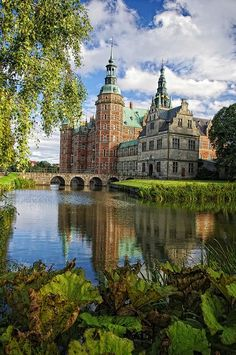 Frederiksborg Palace or Castle is a palace in Hillerød, Denmark. It was built as a royal residence for King Christian IV and is now a museum of national history. The current edifice replaced a pre...