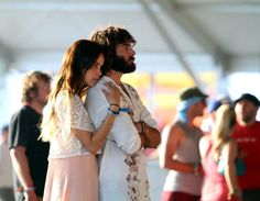 Isabel Lucas and Angus Stone at Coachella