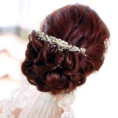 Wedding Hairstyles Vintage