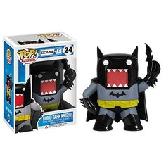 Can they combine any more of my favorite things into one awesome toy?!?!? Maybe if he was holding a cupcake. But then I'd probably explode. Batman Dark Knight Domo DC Heroes Pop! Vinyl Figure