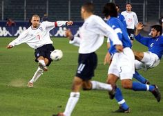 sport: SOCCER Italy/England 8