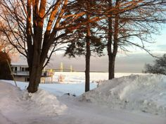 Someone with a camera from the Shepler Ferry folks provided this beautiful shot of the Mackinac Bridge