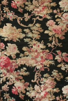 Shabby Antique 19thc French Cotton Barkcloth Fabric by RuinsCa, $39.00