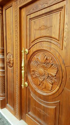 Wooden Main Door Design, Entrance Doors, Bottle Crafts, Armoire, Home Decor, Doors, Entry Doors, Clothes Stand, Entrance Gates
