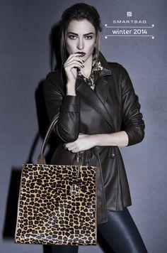 Smartbag Bolsas | Campanha Inverno 2014 #animalprint #purse #shopperbag #shoppingbag