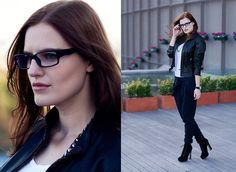 Mango Pants, Zara T Shirt, Firmoo Glasses