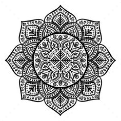 Christmas Snowflake Mandala Ornament - Flowers & Plants Nature