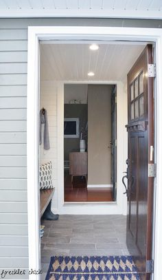 I'm borderline obsessed with this mini mudroom by @Anna Dormer Volgsten Chick