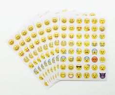 Emoji Stickers - 8 Sheets - Great for Party Favors or Gifts $8.00