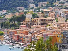 Villefranche south of France, exquisite all year round