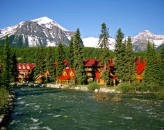 the POST HOTEL!! One of my Favorite places to stay.... So much better than the Chateau! Gotta love Lake Louise!..... It's even nicer in the Summer!
