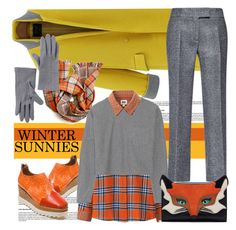"""""""Winter Sunnies"""" by spenderellastyle ❤ liked on Polyvore featuring Uniqlo, T By Alexander Wang, Vincent Pradier, Antonio Berardi and wintersunnies"""