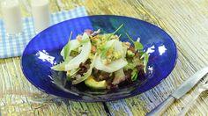 Ensalada de pescados 'hispano-thai'