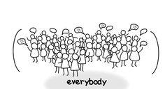Democratisering: proces waarbij 1) een verschuiving van macht optreedt van weinige naar steeds meer mensen en 2) waarbij die macht steeds effectiever door de grotere groep benut kan worden.