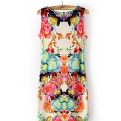 COMING SOON! ❤️ Floral Sheath Dress ❤️ Vibrant blooms romanticize this minimalist silhouette. Figure flattering. Perfect for spring! Will upload actual photo of the dress this weekend. It is love. ❤️ Boutique Dresses Mini