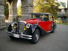 1950 Jaguar Mark V black / red