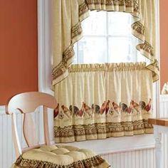127 mejores imágenes de Cortinas de cocina.   Sheer curtains ...