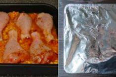 ,,Líná,, kuřecí stehna z jednoho pekáče   NejRecept.cz Chicken Recipes, Tacos, Mexican, Meat, Ethnic Recipes, Food, Projects, House, Log Projects