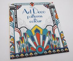 I love coloring books too much... Art Deco Patterns to Colour Book by marykilvert on Etsy, £5.99