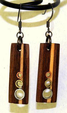 wooden jewelry on Pinterest | Wooden Earrings, Wood Earrings and ...