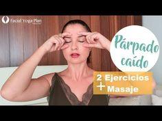 Adiós párpado caído   Yoga Facial - YouTube Yoga Facial, Facial Scrubs, Facial Masks, Beauty Tutorials, Beauty Hacks, Beauty Tips, Face Care, Skin Care, Image Skincare